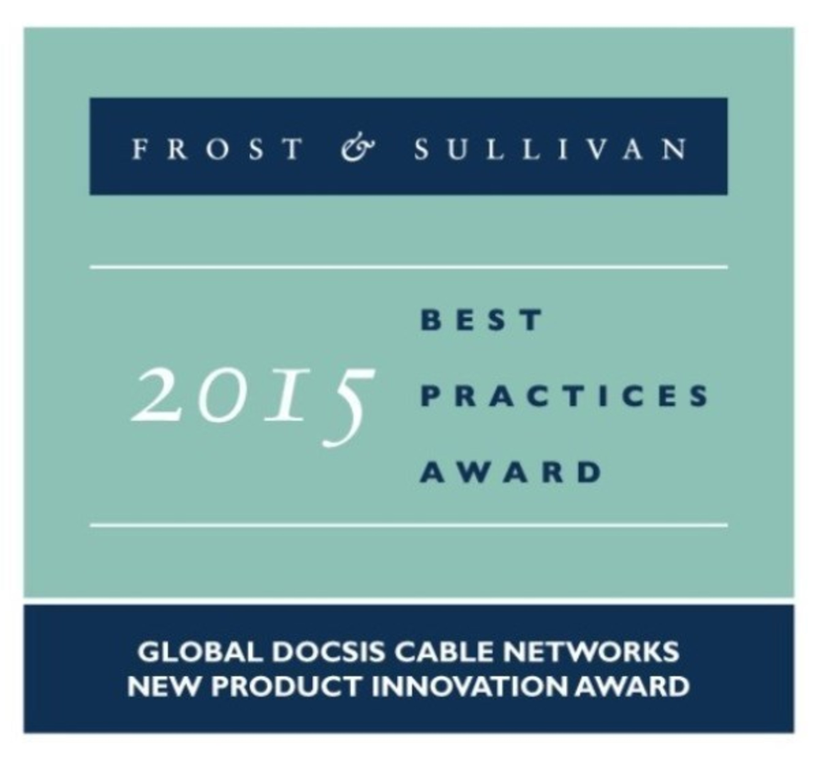 Averna Receives the 2015 Global DOCSIS Cable Networks New Product Innovation Award from Frost & Sullivan