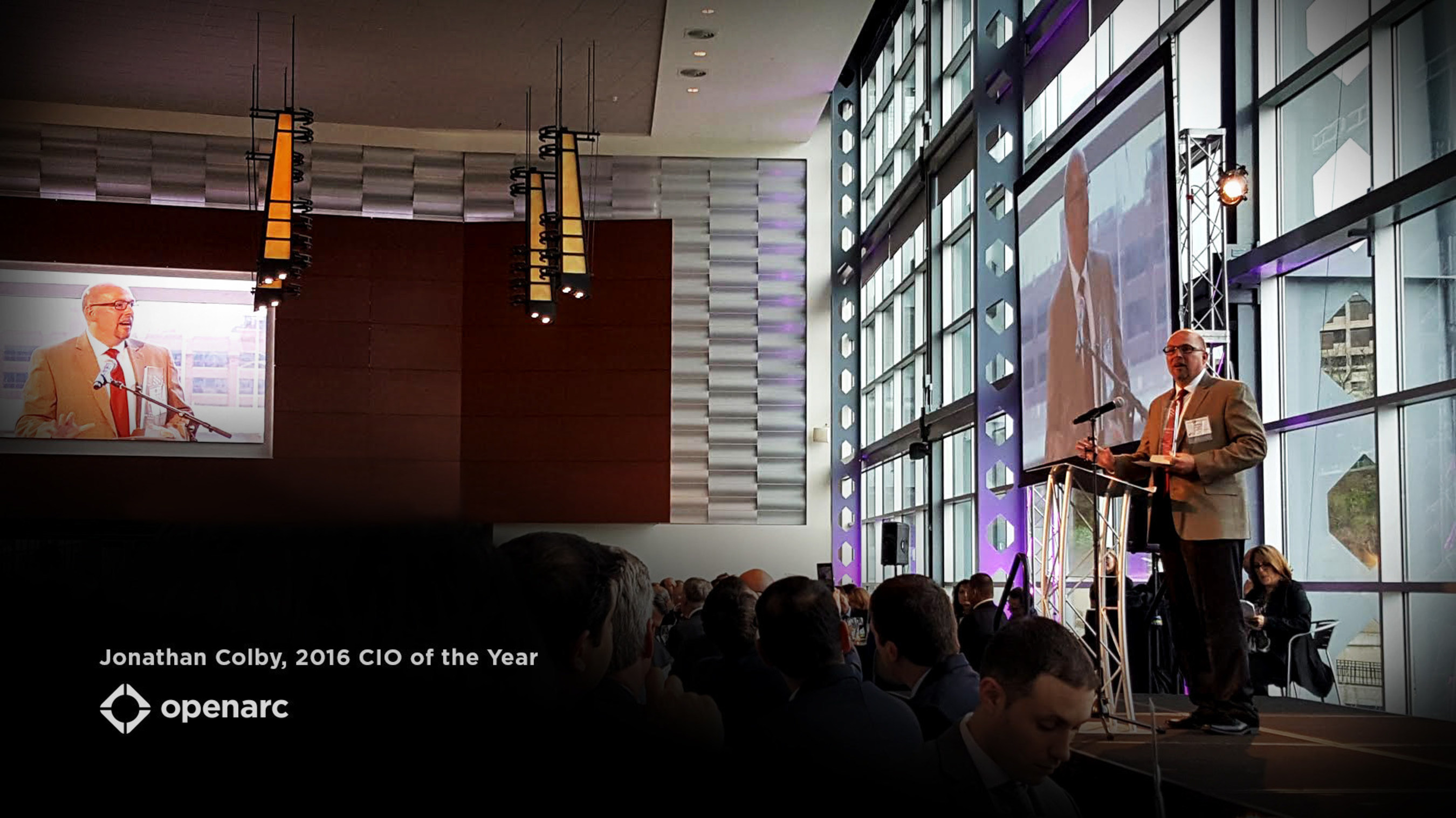Jonathan Colby wins 2016 CIO of the Year Award from the Pittsburgh Technology Council & Greater Pittsburgh CIO Group