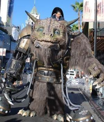 14-foot tall giant creature, Bodock, created by Stan Winston School and Legacy Effects using Stratasys 3D printing technology (PRNewsFoto/Stratasys Ltd)