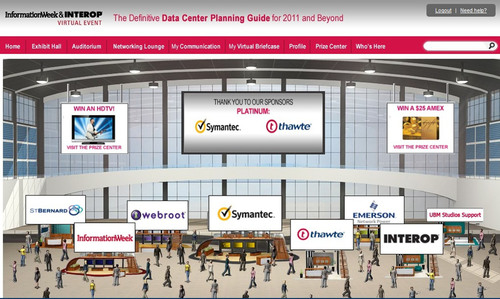 UBM TechWeb's InformationWeek and Interop Presented Virtual Interop -- The Definitive Data Center