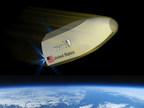Terrestrial Return Vehicle during descent