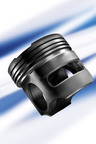 Federal-Mogul's Magnum Monosteel(TM) piston features a reduced-friction architecture for improved fuel economy and piston mass reduction.    (PRNewsFoto/Federal-Mogul Corporation)