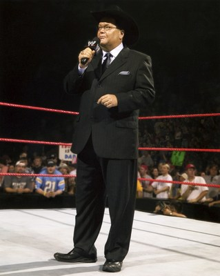 WWE Hall of Famer Jim Ross (pictured) has teamed up with recently retired UFC superstar Chael Sonnen to call the BattleGrounds MMA one-night, eight-man tournament action live on pay-per-view on Friday, Oct. 3.  The tournament will award its winner a grand prize of $50,000.