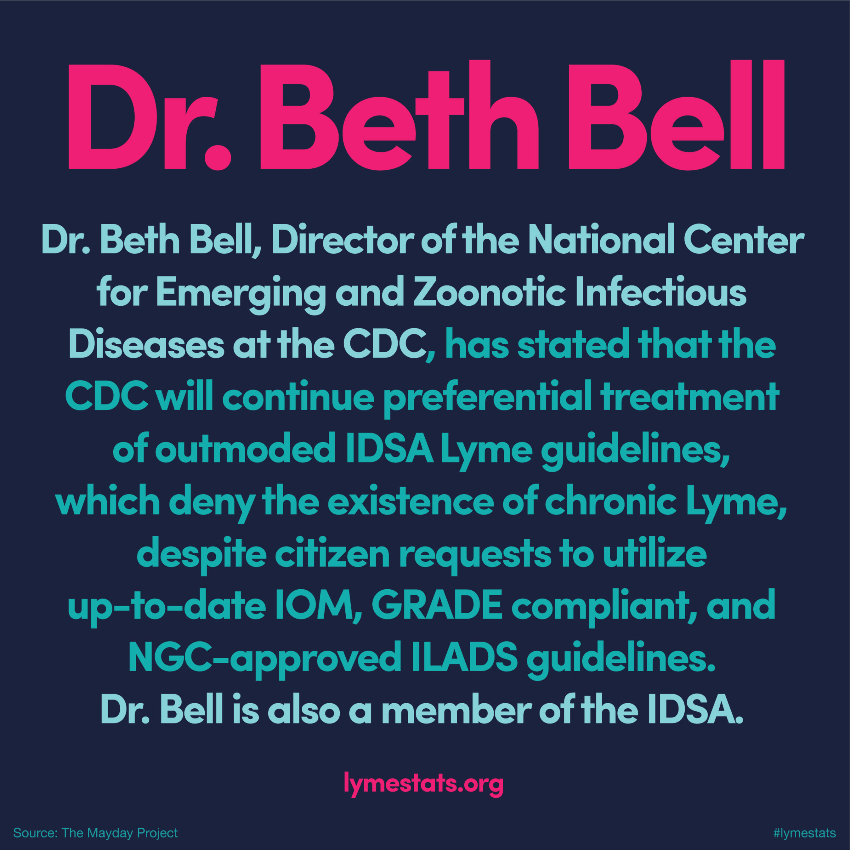 CDC Refuses to End Preferential Treatment of IDSA Lyme Guidelines in Response to Citizen Petition