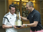 In its 30th year of honoring the nation's best high school athletes, The Gatorade Company, in collaboration with USA TODAY High School Sports, announced Jack Harrison of Berkshire School (Sheffield, Mass.) as its 2014-15 Gatorade National Boys Soccer Player of the Year on Tuesday, May 12, 2015. Harrison was surprised with the news at his school by former MLS MVP Taylor Twellman.