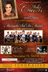 Flyer for Mariachi Event Held Sunday, November 24, 2013, 3 p.m. at the Harris Theater.  (PRNewsFoto/Mariachi Heritage Foundation)