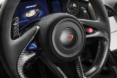 McLaren Automotive announces powertrain for the McLaren P1(TM).  (PRNewsFoto/McLaren Automotive)