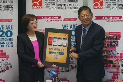 MIFF launches its first-ever app (www.miff.com.my).  (PRNewsFoto/UBM Asia (Malaysia))