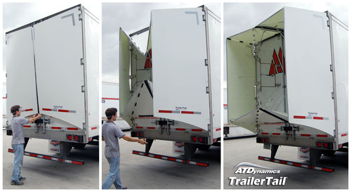 ATDynamics Introduces Next Generation TrailerTail® at American Trucking Association Conference