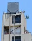 Raytheon photo: Partially-populated, full-sized Air and Missile Defense Radar array (PRNewsFoto/Raytheon Company)