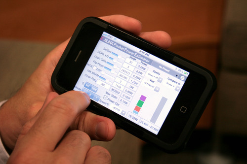 Xilinx Releases Pocket Power Estimator App for the iPhone