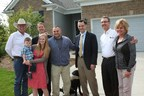 PulteGroup CEO Richard Dugas (3rd from right) at a home delivery in Michigan, one of 20 Built to Honor homes to be gift to deserving veterans and their families in 2014.