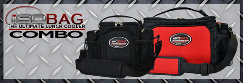 Coupon code SALE10 will save 10% on the meal management lunch cooler bag, ISOBAG(TM). (PRNewsFoto/Isolator Fitness) (PRNewsFoto/ISOLATOR FITNESS)