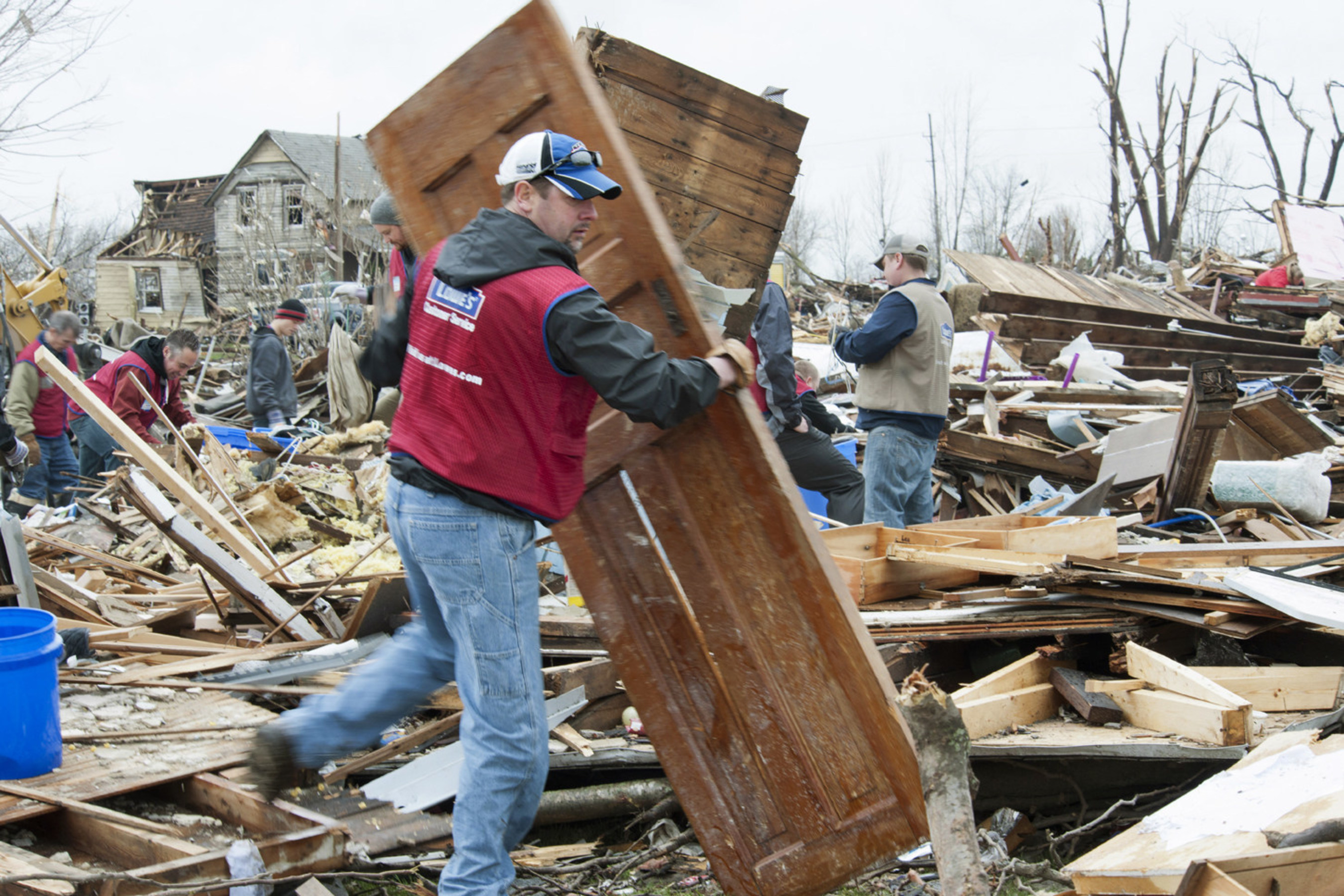 Lowe's has contributed more than $2 million and thousands of hours of volunteer support since partnering with the First Response Team in 2012.