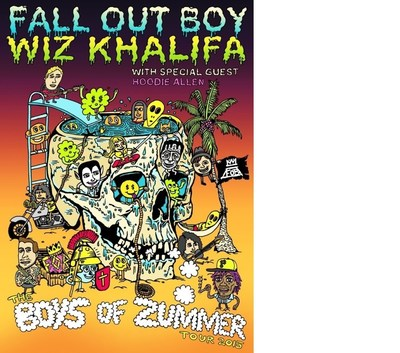 Fall Out Boy and Wiz Khalifa Announce The Boys Of Zummer Tour