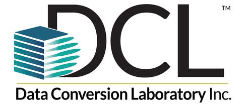 Data Conversion Laboratory logo. (PRNewsFoto/Data Conversion Laboratory) (PRNewsFoto/DATA CONVERSION LABORATORY)