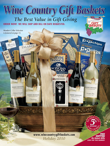 Wine Country Gift Baskets - Houdini Inc. - 50 Million Gift Baskets