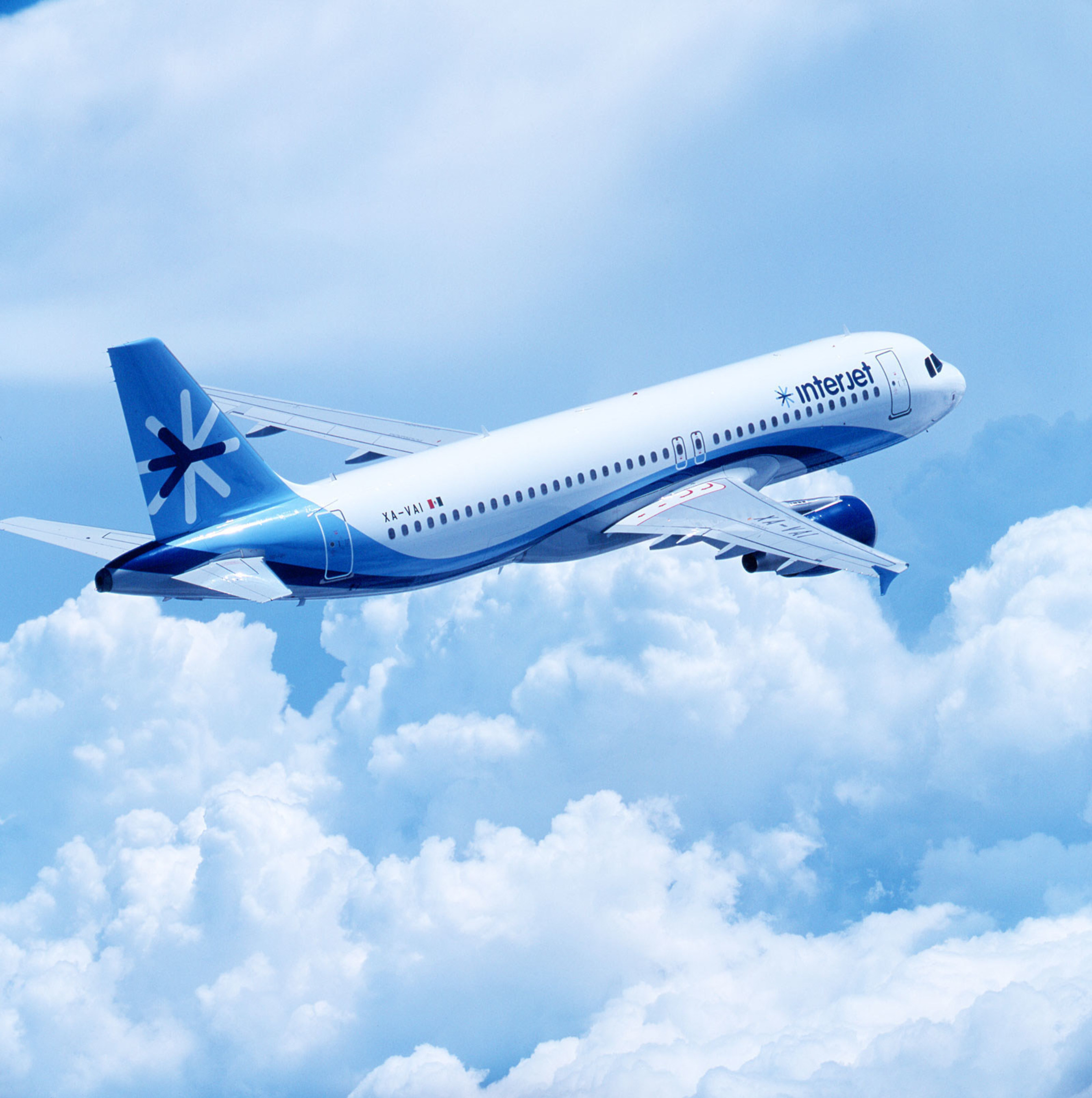 Airbus A-320 of Interjet