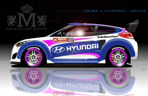 Hyundai And Rhys Millen Forge Formidable New Force To Compete In 2014 Global Rallycross Championship Series. ...