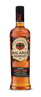 BACARDI Oakheart Wins Best Tasting Spiced Rum Over Captain Morgan Original Spiced Rum