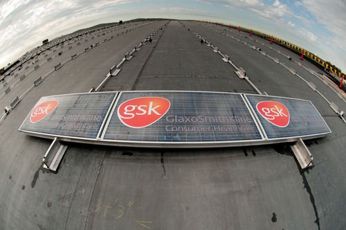 GlaxoSmithKline Consumer Healthcare Begins Installation of North America's Largest Rooftop Solar