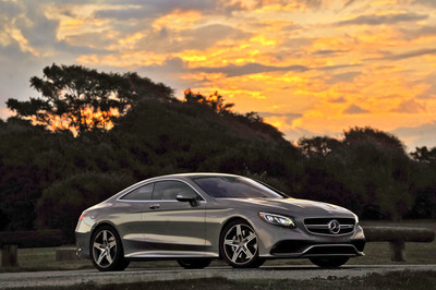 Mercedes-Benz Announces 2015 S-Class Coupe Pricing (PRNewsFoto/Mercedes-Benz USA)