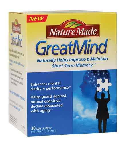 Nature Made® Announces New Product Nature Made GreatMind® to Help Improve Mental Clarity and