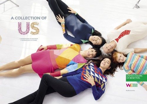 UNITED COLORS OF BENETTON: A NEW COLLECTION, A NEW STORY, A NEW COMMITMENT FOR ALL THE WORLD'S WOMEN (PRNewsFoto/United Colors of Benetton) (PRNewsFoto/United Colors of Benetton)