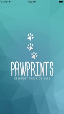 PawPrints app, ensuring your children's safety. (PRNewsFoto/AppBox Media)