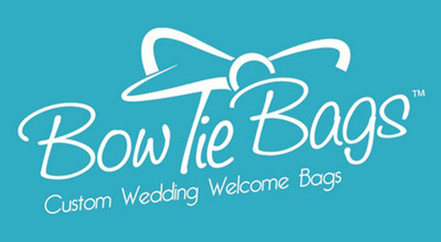 Wedding Welcome Bags that are Fun and Festive are the Focus of Brand New Bow Tie Bags (TM) Website.  (PRNewsFoto/Bow Tie Bags)