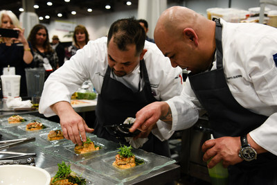 Live contests and demonstrations on the CSES 2016 Tradeshow floor showcased industry creativity across the catering and events spectrums.