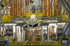 Lockheed Martin completed more than 27,000 hours of simulated flight time on an F-16C Block 50 aircraft at Lockheed Martin's Full Scale Durability Test facility in Fort Worth, Texas. Photo: Lockheed Martin