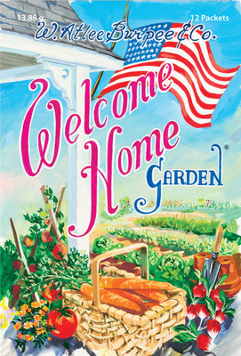 Burpee Seeds to share Welcome Home Gardens with American Veterans at USDA Farmers Market Opening, June 6 (PRNewsFoto/W. Atlee Burpee & Co.)
