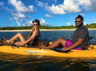 Virgin Kayak Tours offers guided bioluminescent kayaking trips on St Croix, US Virgin Islands