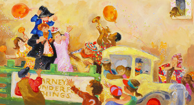Illustration From Louies Search By Ezra Jack Keats