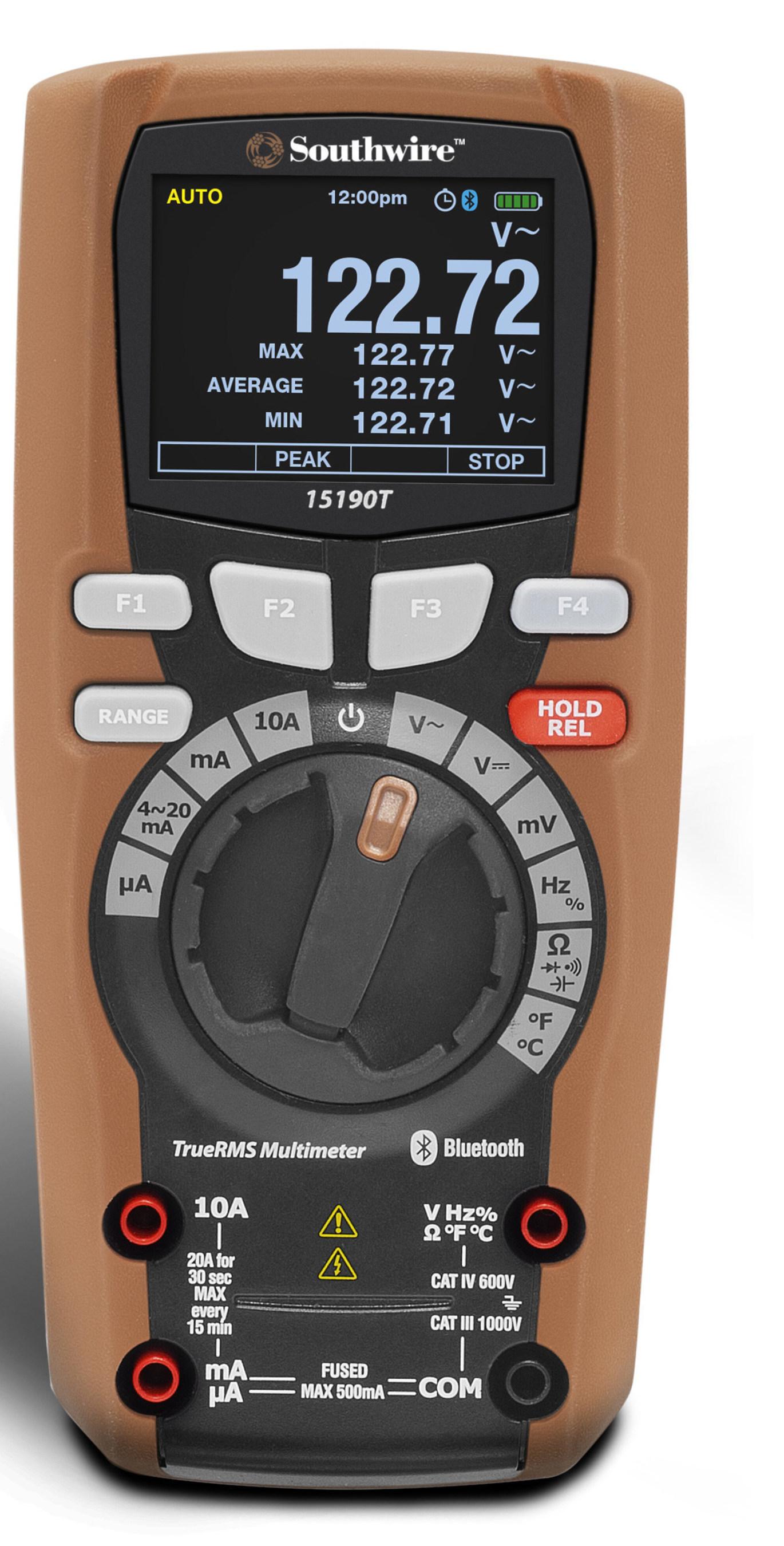 Southwire S New Maintenancepro Smart Multimeter Wins Neca