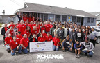 XChange Events' Channel@Work gives back to CCEO YouthBuild in LA.  (PRNewsFoto/The Channel Company)