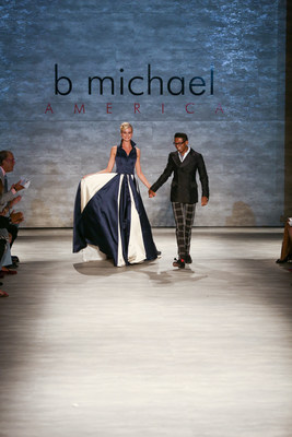 b michael AMERICA Spring 2015 Couture