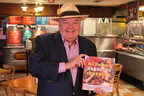 Roland Dickey stops by the new Dickey's Barbecue Pit in Clovis for their grand opening on Friday to hand out free cookbooks and mingle with guests. Three guests  win free barbecue for an entire year!