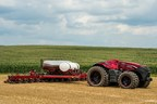 Case IH Magnum Autonomous Concept Tractor in the field with the Case IH Early Riser 2150 Planter