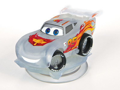 "Toys""R""Us announces the launch of an exclusive line of Disney Infinity collectible figures - the Infinite Crystal Series - available only at Toys""R""Us stores nationwide and online at Toysrus.com beginning Sunday, August 18. Lightning McQueen will be the first crystal figure to debut from the collection. (PRNewsFoto/Toys""R""Us, Inc.) (PRNewsFoto/TOYS)"