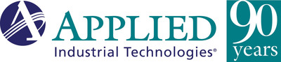 Applied Industrial Technologies 90-year anniversary logo.  (PRNewsFoto/Applied Industrial Technologies)