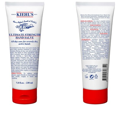 In celebration of Kiehl's LifeRide for amfAR, Kiehl's Since 1851 has introduced a Limited Edition Ultimate Strength Hand Salve, a jumbo size of the company's classic formula and customer favorite. 100% of Kiehl's net profits from the sale of this product, up to $25,000, will benefit amfAR, The Foundation for AIDS Research. The Limited Edition Ultimate Strength Hand Salve will be available in a specially designed 7.8.oz size, and is adorned with a red cap. It is $28.50 at Kiehl's retail stores and specialty store partners nationwide, and at Kiehls.com/LifeRide. (PRNewsFoto/Kiehl's Since 1851)