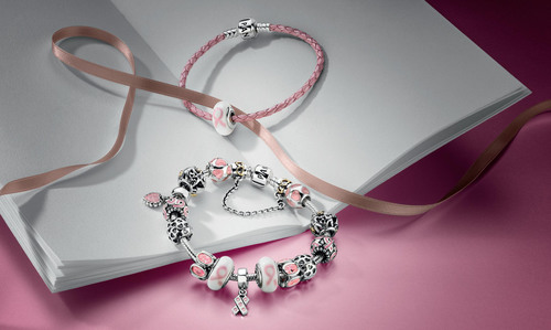 PANDORA IS PROUD TO MARK ITS CONTINUED COMMITMENT TO SUPPORTING THE FIGHT AGAINST BREAST CANCER WORLDWIDE.  ...