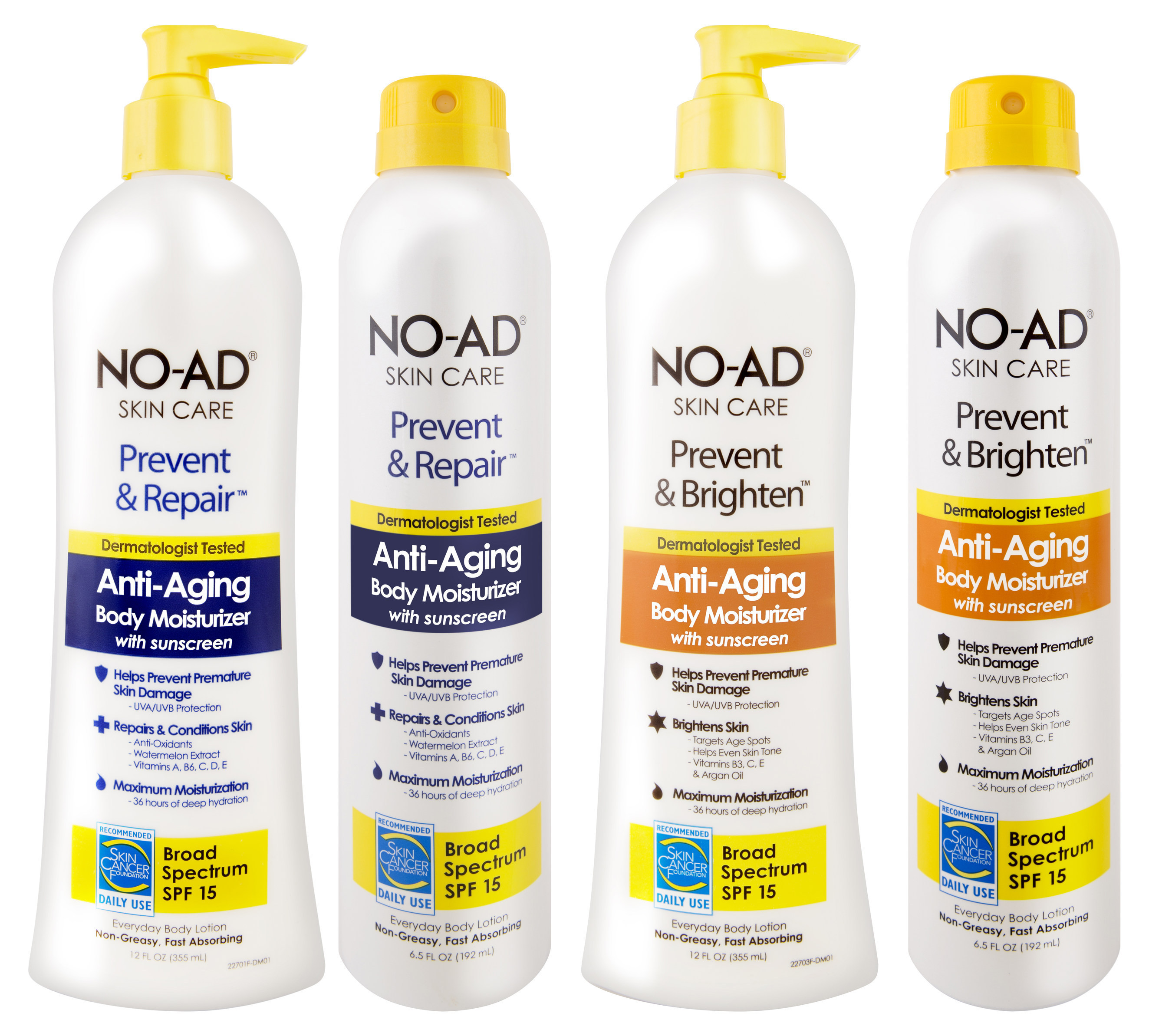 Skin Care Ads: NO-AD Enters Skin Care Category With National Rollout Of