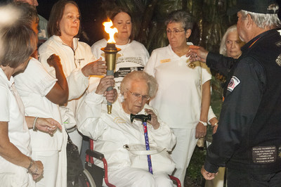 Gold Star Mother's with Flame of Freedom