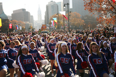 Elite Groups of Varsity Cheerleaders and Dancers to Perform in Major Holiday Parades