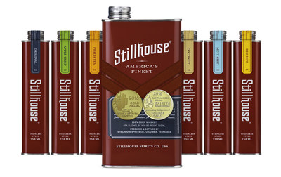 Stillhouse is an award-winning, 100% clear corn whiskey available in six expressions: Original, Apple Crisp, Peach Tea, Coconut, Mint Chip and Red Hot.