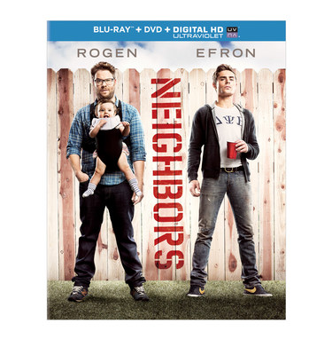 Universal Home Entertainment announces Neighbors on Blu-ray, DVD and DIGITAL HD (PRNewsFoto/Universal Studios Home Entertain)