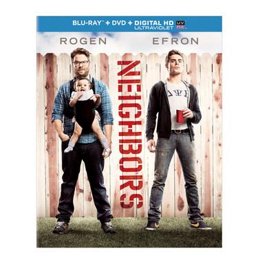Universal Home Entertainment announces Neighbors on Blu-ray, DVD and DIGITAL HD (PRNewsFoto/Universal Studios Home Entertain)